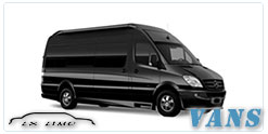 Luxury Van service in Pittsburgh