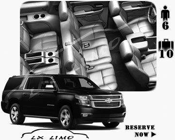 SUV Suburban for hire in Pittsburgh