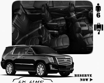 SUV Escalade for hire in Pittsburgh PA