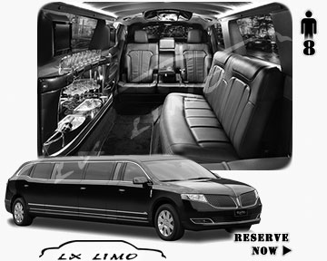 Stretch Limo for hire in Pittsburgh