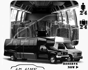 Bus for airport transfers in Pittsburgh PA