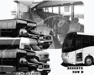 Pittsburgh Bus rental 36 passenger